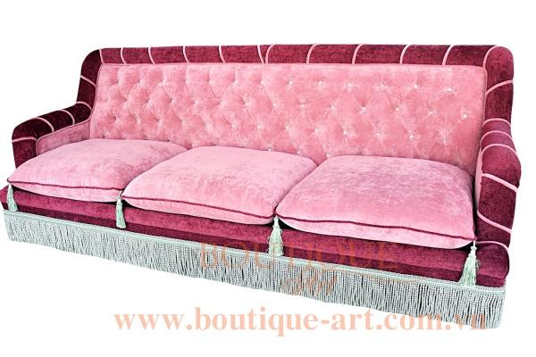 Sofa 3 chỗ rút nút - B.A 1678