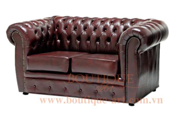 Sofa tay uốn rút nút - B.A 1652