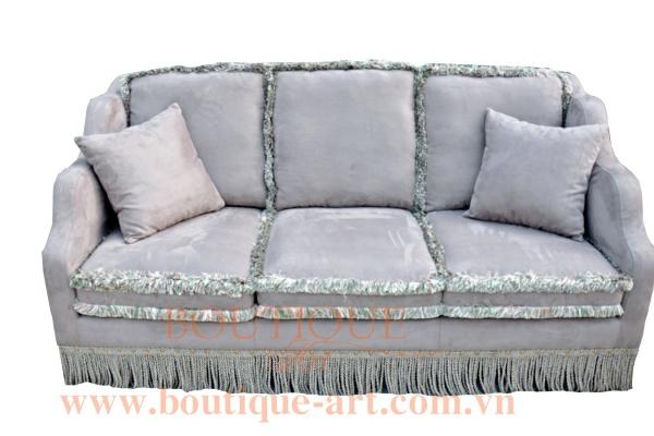 Sofa 3 chỗ tay lượn sóng - B.A 1683