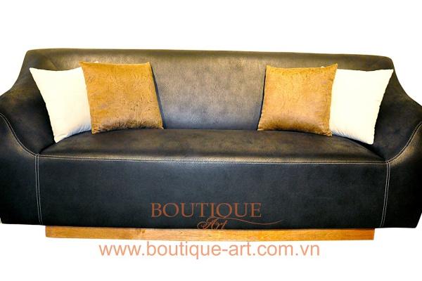 Sofa da 3 chỗ - B.A 1682