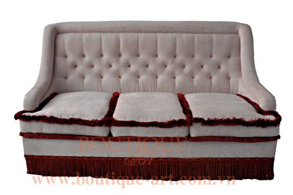 Sofa 3 chỗ rút nút - B.A 1680